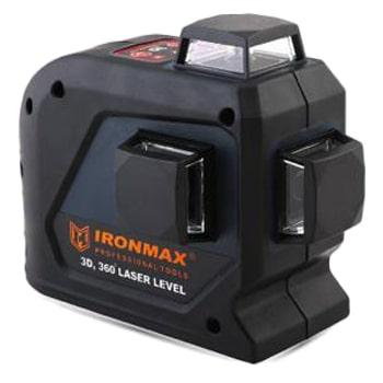 تراز لیزری سه بعدی 360 درجه آیرون مکس مدل IM-2536