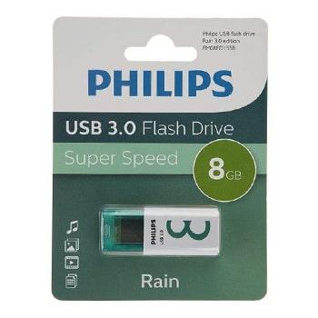 فلش-مموری-فیلیپس-مدل-Rain-FM08FDI55B-ظرفیت-8-گیگابایت0