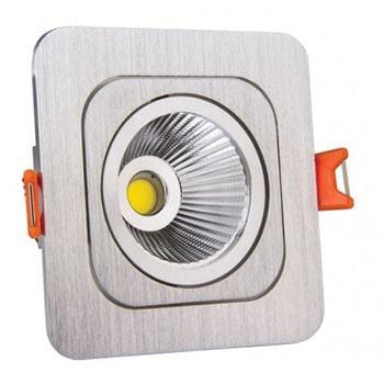 چراغ-سقفی-LED-توکار-7-وات-نمانور-مدل-مربع-10210