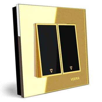 کلید-دو-پل-توکار-ویرا-الکتریک-مدل-امگا-طلایی-طلایی-مشکی0