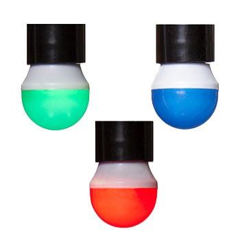 لامپ فوق کم مصرف حبابی رنگی 6 وات کیهان مدل R50 سرپیچ E14