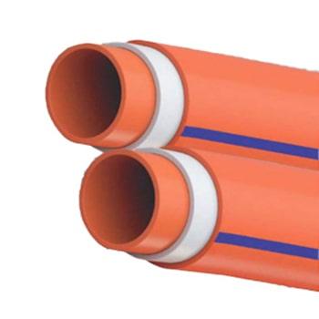 لوله-فاضلابی-سه-لایه-Flexible-لاوین-پلاست-سایز-160-میلی-متر-صخامت-3.2-میلی-متر