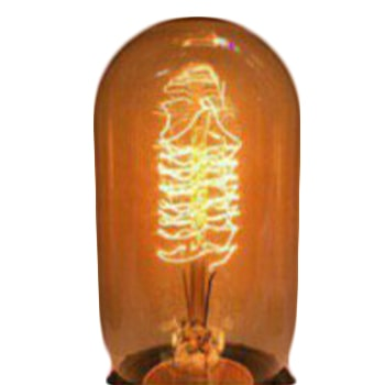 چراغ ادیسونی فیلامنتی 40 وات اسنکو مدل استوانه بزرگ
