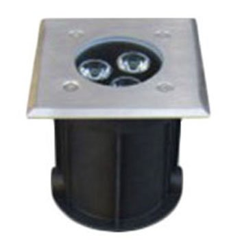 چراغ دفنی 23 وات گلنور مدل فلورین 1 مربعی IP67