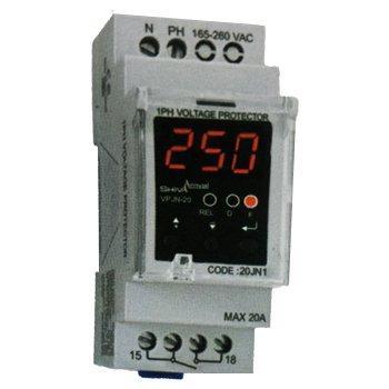 محافظ ولتاژ تک فاز دیجیتال شیوا امواج مدل VPJN-20