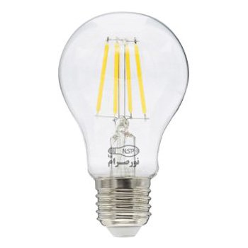 لامپ ال ای دی حبابی فیلامنتی 4 وات نور صرام پویا مهتابی سرپیچ E27