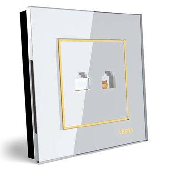 سوکت-شبکه-توکار-ویرا-الکتریک-مدل-امگا-سفید-طلایی-سفید0