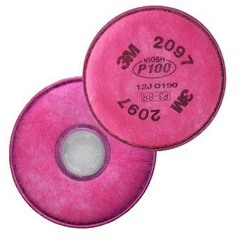 فیلتر ماسک 3M پلتور مدل P100 2097