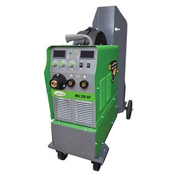 دستگاه جوش اینورتر میگ مگ و الکترود 250 آمپر ایران ترانس مدل MIG250SP