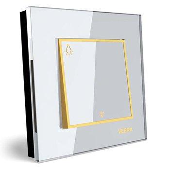 شاسی-راه-پله-توکار-ویرا-الکتریک-مدل-امگا-سفید-طلایی-سفید0