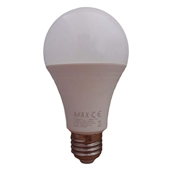 لامپ ال ای دی حبابی 9 وات مکس سرپیچ E27
