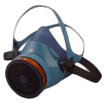 ماسک-تنفسی-نیم-صورت-تک-فیلتر-بیباری-مدل-SH-100