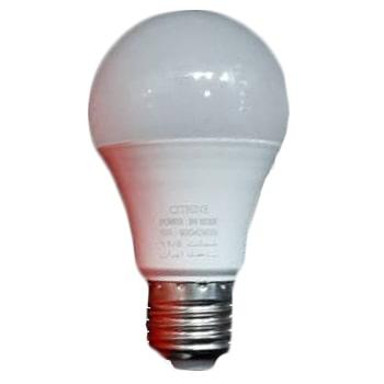 لامپ ال ای دی حبابی 9 وات سیترین سرپیچ E27