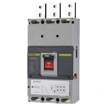 کلید اتوماتیک کمپکت هیوندای 3 پل 1000 آمپر الکترونیکی