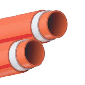 لوله-فاضلابی-سه-لایه-سایلنت-لاوین-پلاست-سایز-110-میلی-متر-ضخامت-3.2-میلی-متر