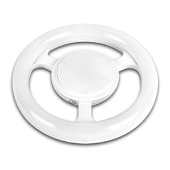 لامپ ال ای دی دایره ای 30 وات پارس شعاع توس سفید سرپیچ E27