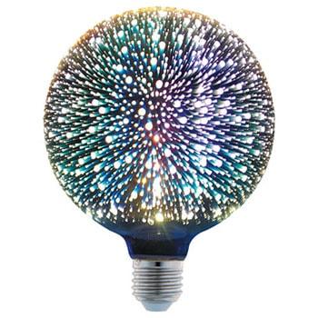 لامپ ال ای دی 6 وات پارس شهاب سه بعدی سرپیچ E27