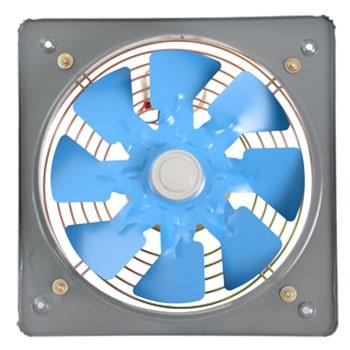 هواکش خانگی فلزی دمنده مناسب قطر 10 سانتی متر مدل VMA-10S2S