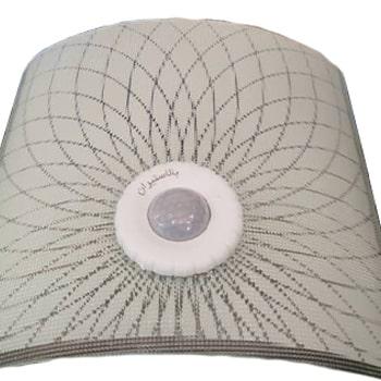 چراغ-سقفی-LED-سنسوردار-روکار-بالاستیران-مربعی-سرپیچ-E270