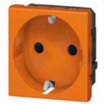 پریز برق بدون ارت لگراند نارنجی