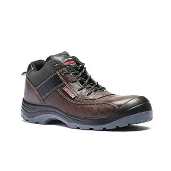 کفش ایمنی قهوه ای یحیی مدل Super3M-999