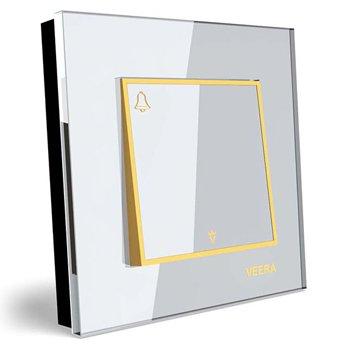 شاسی-زنگ-توکار-ویرا-الکتریک-مدل-امگا-سفید-طلایی-سفید0