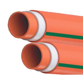 لوله-فاضلابی-سه-لایه-ناودانی-لاوین-پلاست-سایز-63-میلی-متر-ضخامت-1.5-میلی-متر